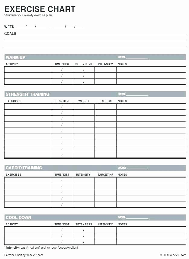 Hseep Exercise Plan Template Unique Exercise Training Plan Template – Lucassportportalfo