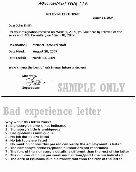 I140 Experience Letter format Beautiful Joseph Kallabat & associates P C Immigration attorney