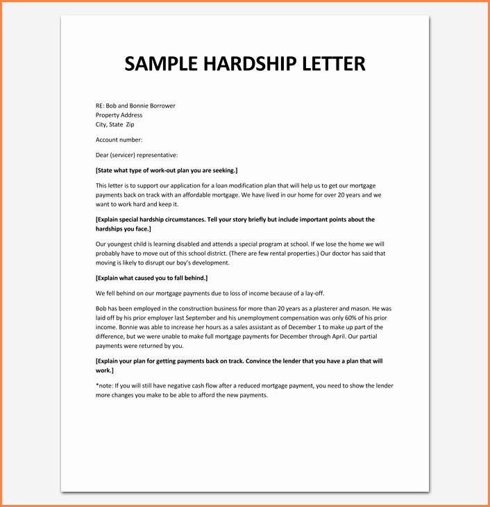 Immigration Hardship Letter format Fresh 11 Hardship Letter for Immigration