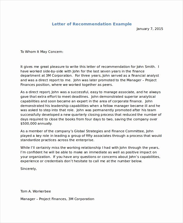Immigration Recommendation Letter Template Inspirational Immigration Letter for Friend Letter Of Re Mendation
