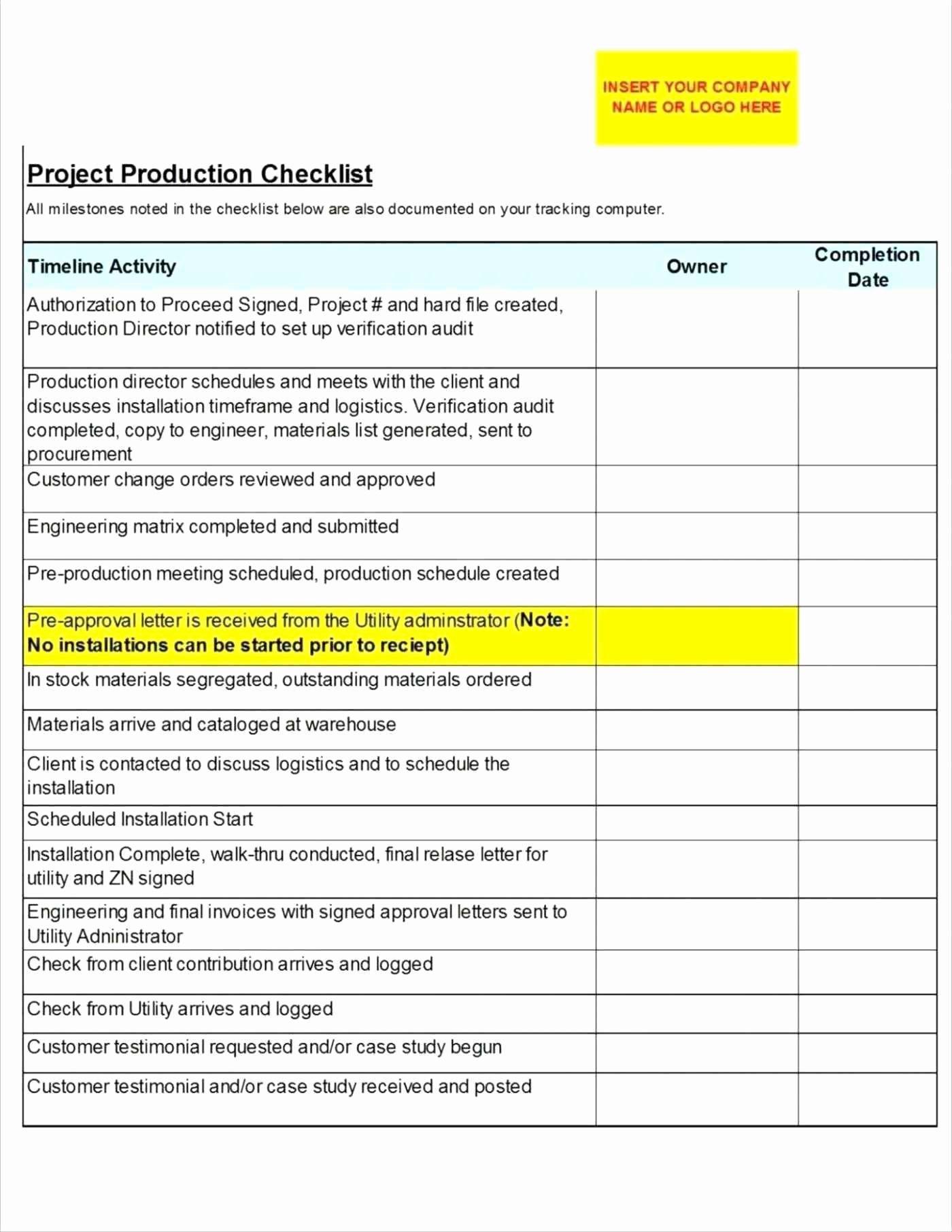 Implementation Plan Template Excel Elegant Project Implementation Plan Template Excel Glendale