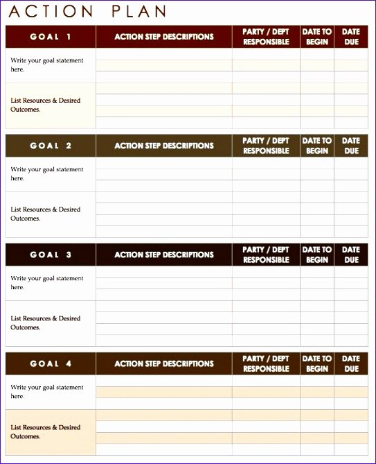 Implementation Plan Template Excel Fresh 9 Implementation Plan Template Excel Exceltemplates
