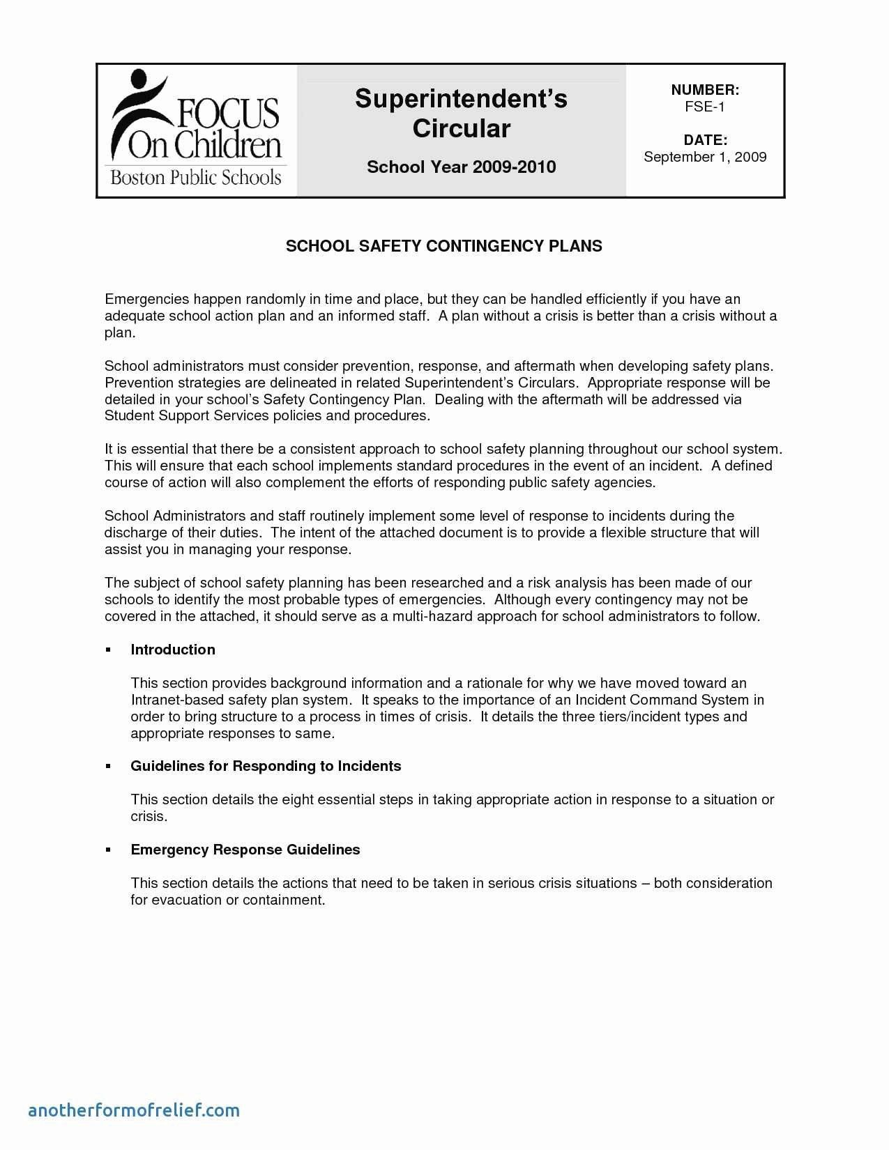 Incident Response Plan Template Awesome Fresh Nist Cyber Incident Response Plan Template