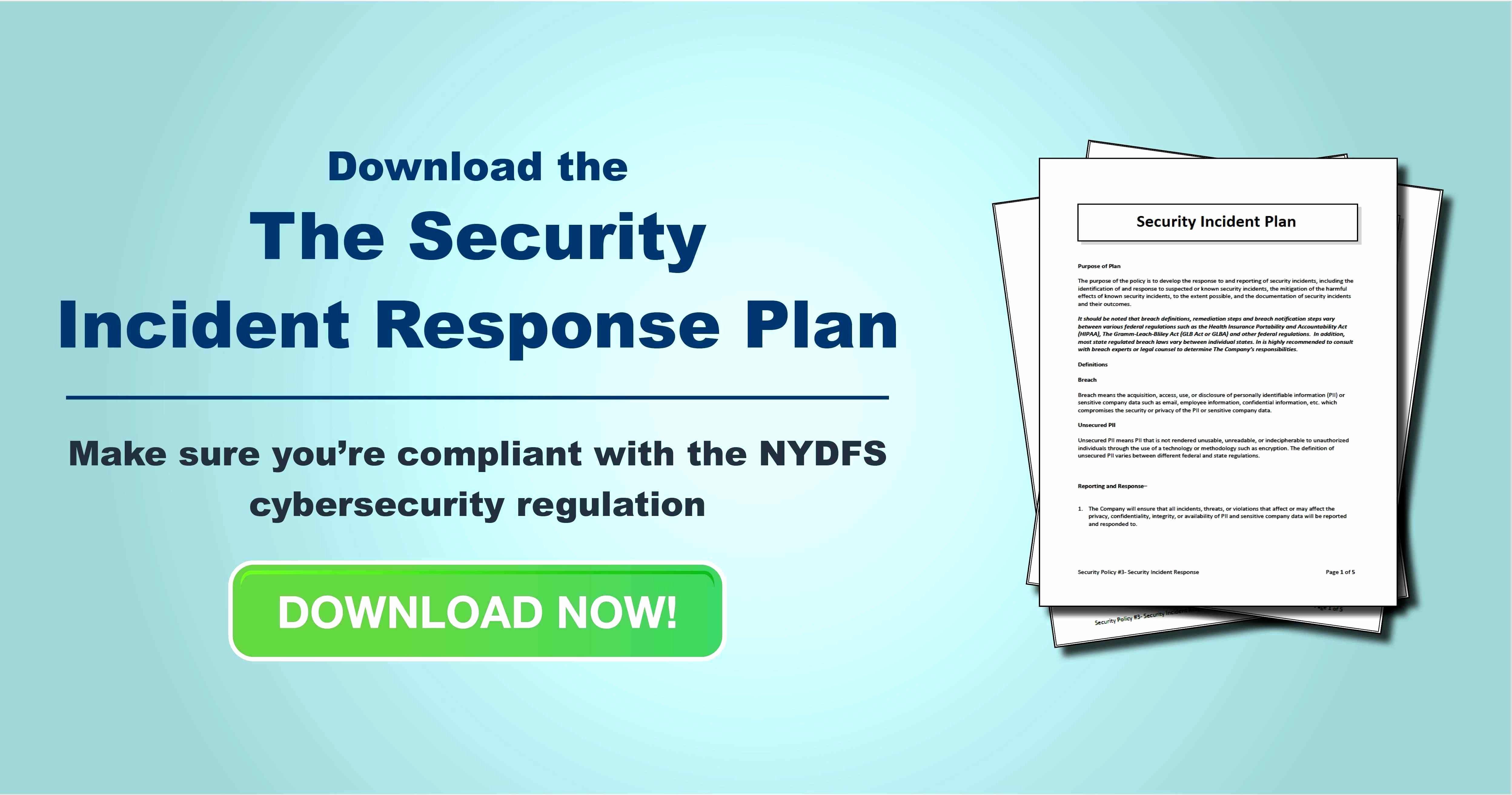 Incident Response Plan Template Best Of 13 Unique Cyber Incident Response Plan Template Document
