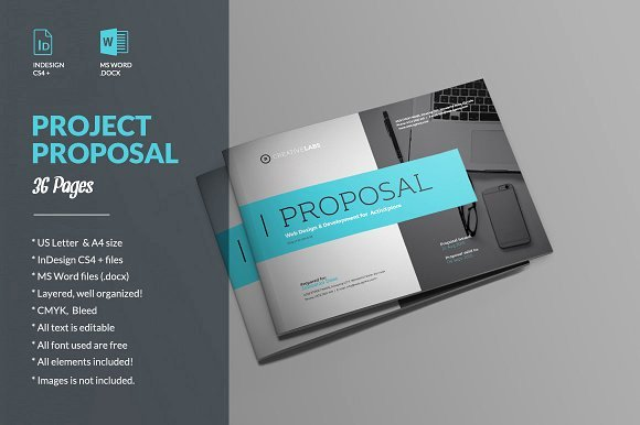 Indesign Business Plan Template Awesome 20 Creative Business Proposal Templates You Won T Believe