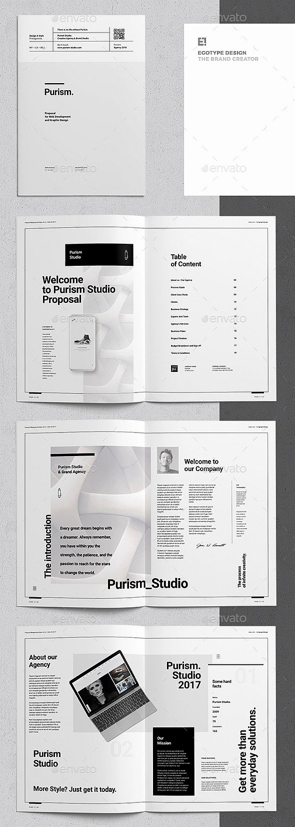 Indesign Business Plan Template Beautiful 30 Indesign Business Proposal Templates