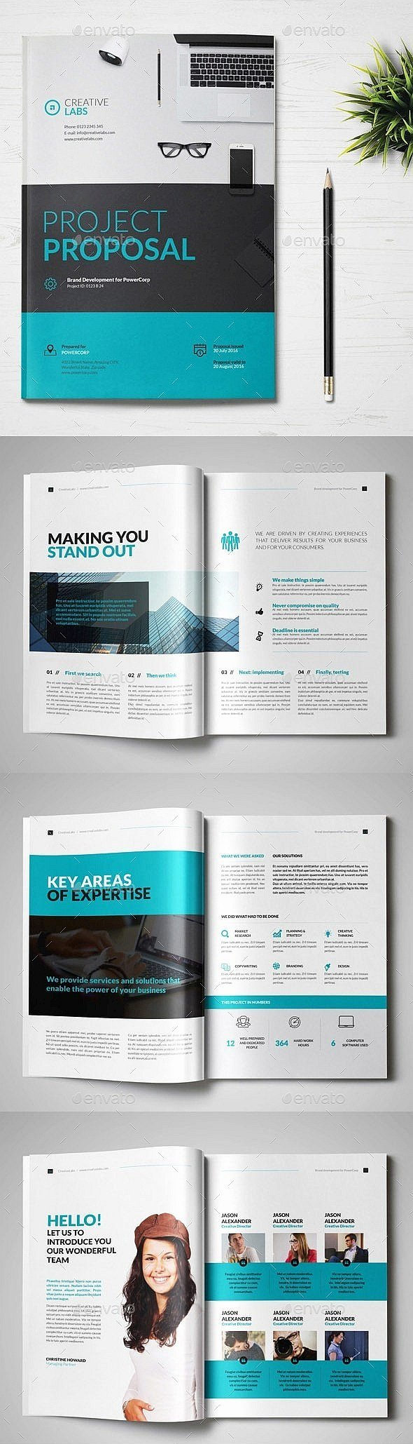 Indesign Business Plan Template Best Of 30 Indesign Business Proposal Templates