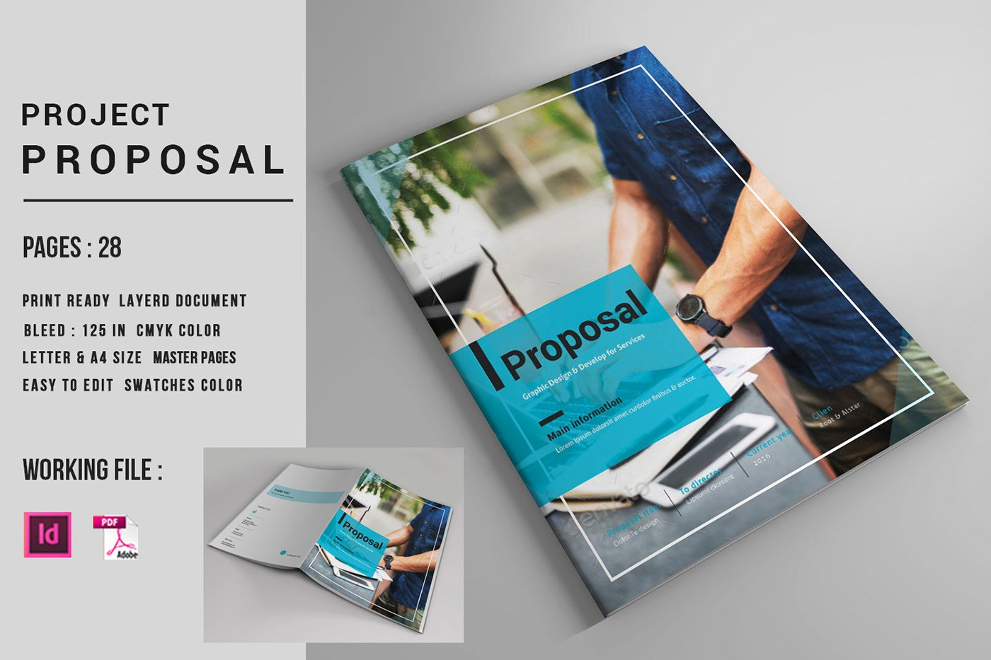 Indesign Business Plan Template Best Of Indesign Business Proposal Template On Behance