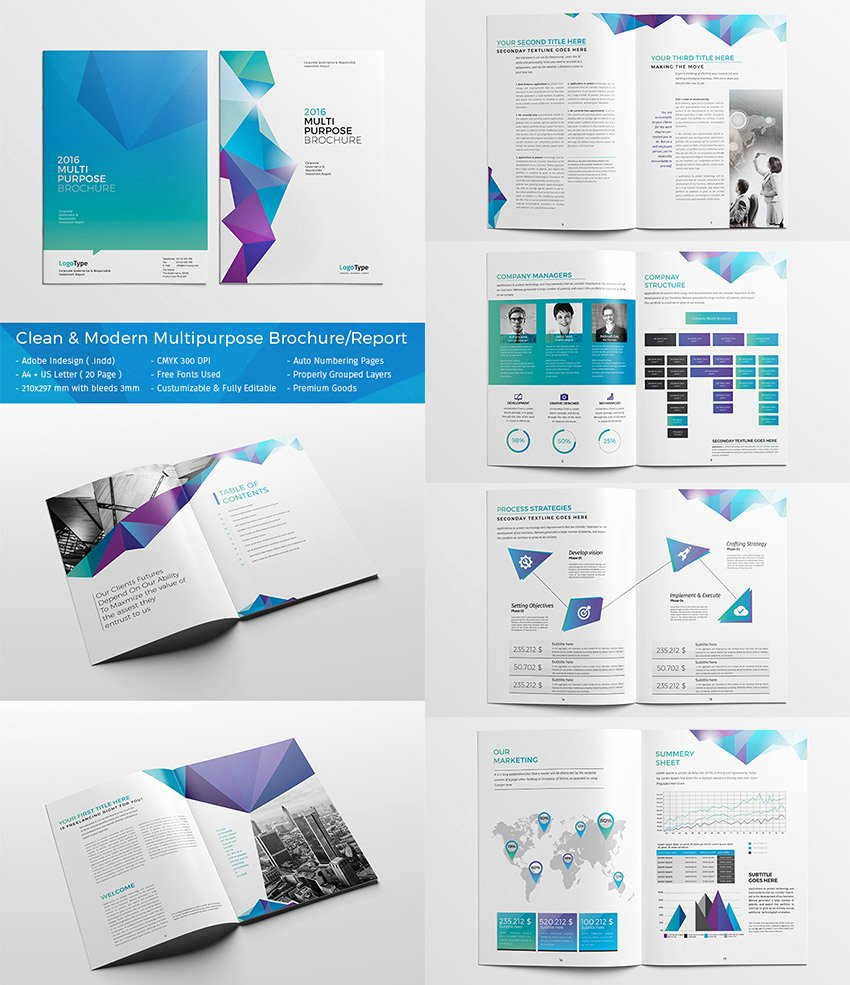 Indesign Business Plan Template Fresh 20 Best Indesign Brochure Templates for Creative
