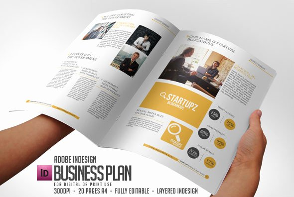 Indesign Business Plan Template Inspirational Business Plan Indesign Template for Best Business Strategy