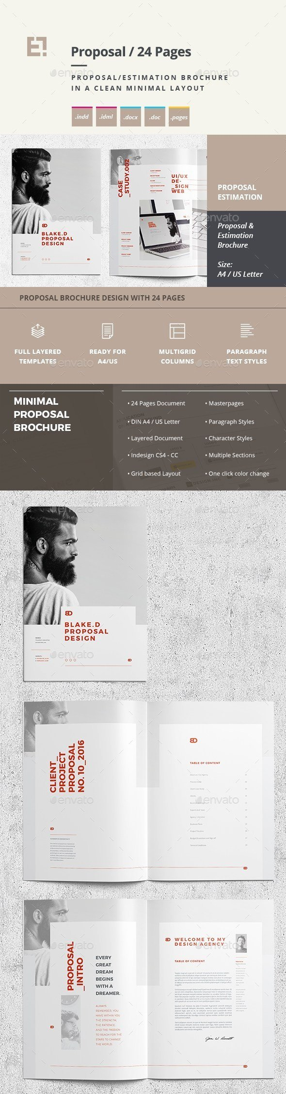 Indesign Business Plan Template Luxury 30 Indesign Business Proposal Templates