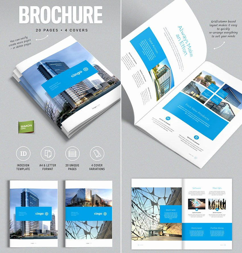 Indesign Business Plan Template New 20 Best Indesign Brochure Templates for Creative