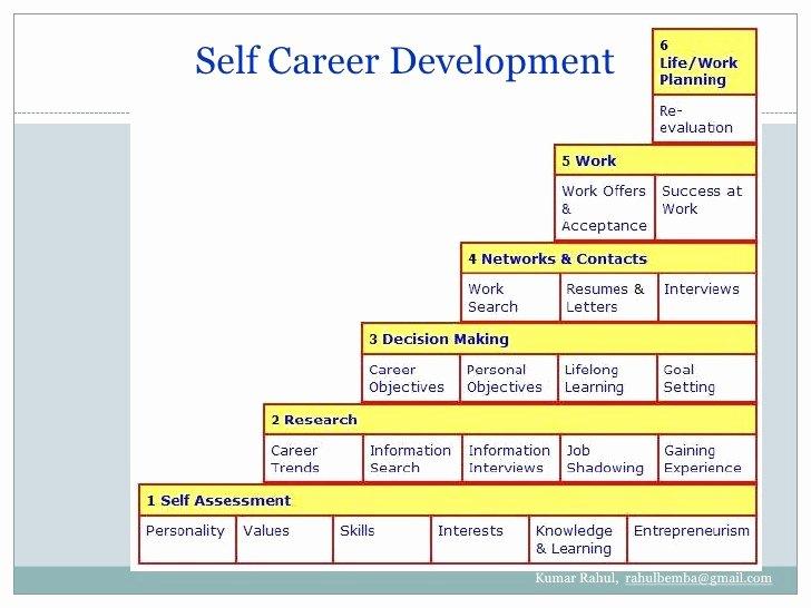 Individual Career Development Plan Template Elegant Career Development Plan