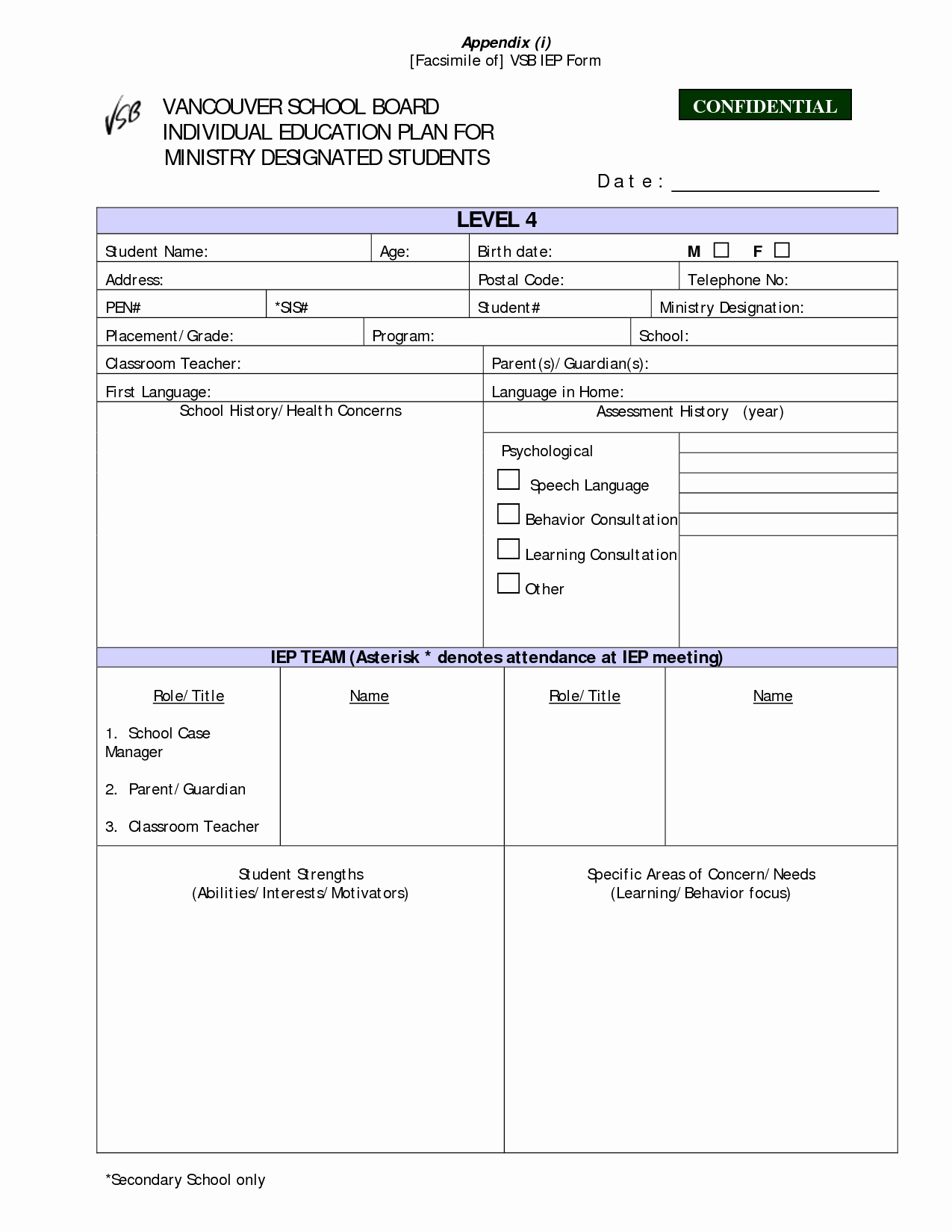 Individual Education Plan Template Elegant 23 Of Learning Plan Template