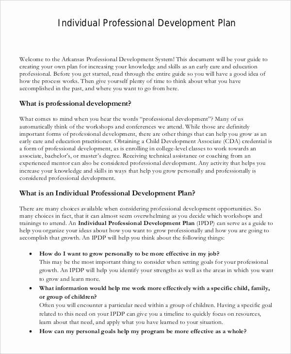 Individual Service Plan Template Awesome 39 Development Plan Samples Pdf Word