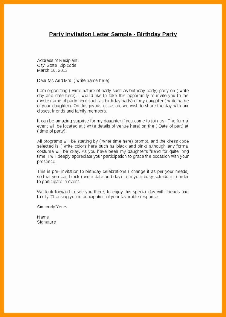 Informal Letter format Sample Luxury 10 Informal Letter Sample