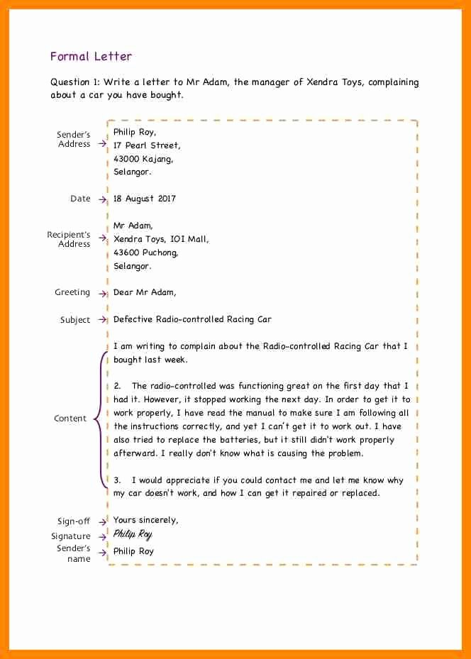 Informal Letter Writing format Best Of 14 format Of Informal Letter Writing – Guatemalago