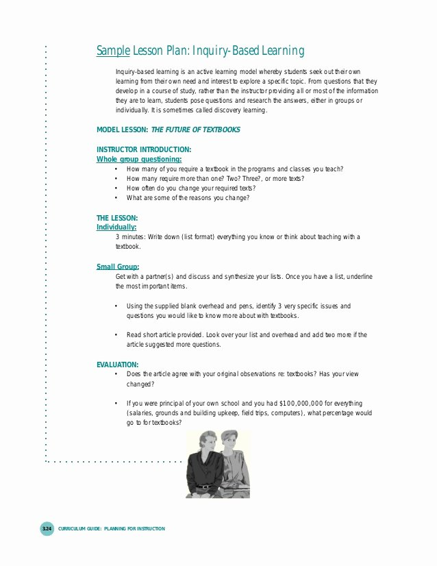 Inquiry Lesson Plan Template New Lesson Planning