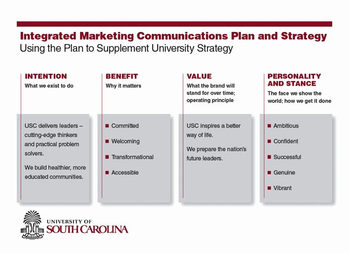 Integrated Marketing Plan Template Inspirational Example Of Integrated Marketing Munications Plan