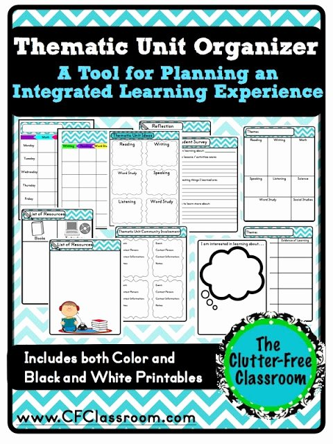Interdisciplinary Unit Plan Template New Tips for Planning An Integrated Teaching Unit Cross