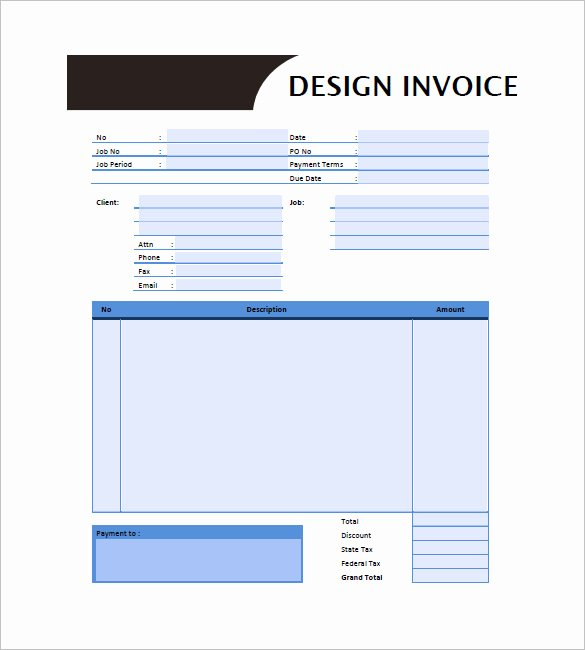 Interior Design Purchase order Template Inspirational Online Shopping Invoice Template Indesign 7 Doubts About