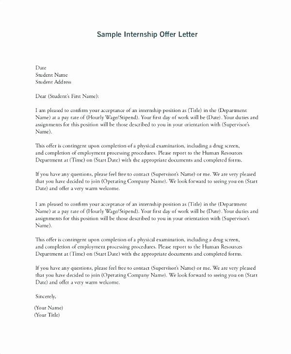 Intern Letter Of Recommendation Fresh Letter Re Mendation for An Intern Write Letter