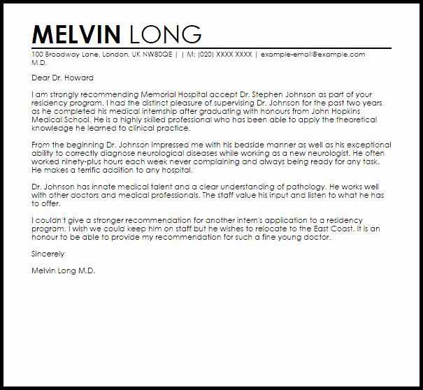 Intern Letter Of Recommendation Inspirational Internship Letter Re Mendation