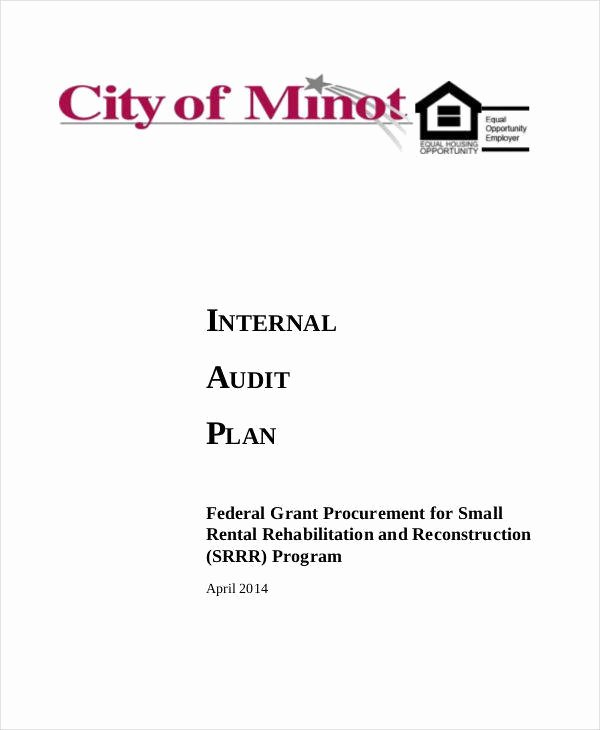 Internal Audit Plan Template Elegant 7 Audit Plan Samples & Templates