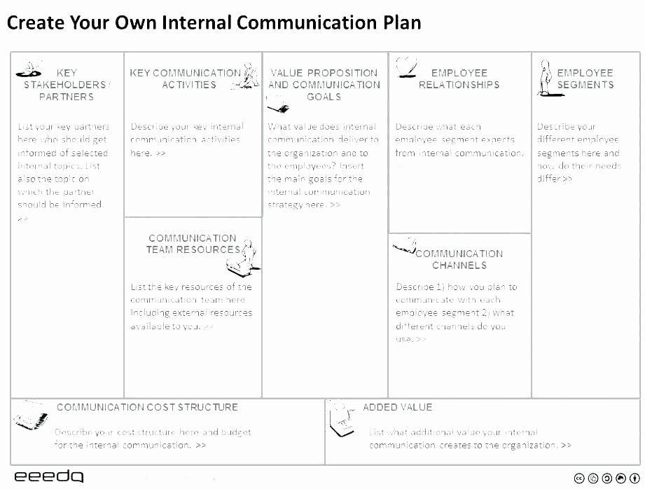 Internal Communications Plan Template Elegant Internal Munication Structure