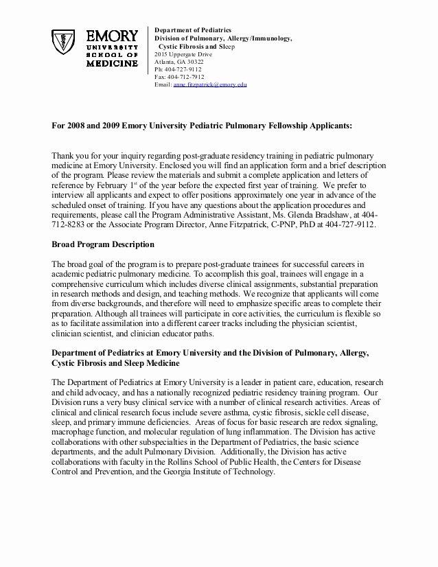 Internal Medicine Letter Of Recommendation Luxury Re Mendation Letter Sample Medical Residency