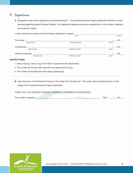Intra Family Loan Agreement Template Best Of Sample Intra Family Loan Document