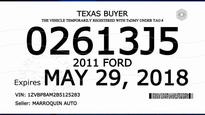 Intra Family Loan Agreement Template Elegant Texas Dealer Tag Template Texas Paper License Plate
