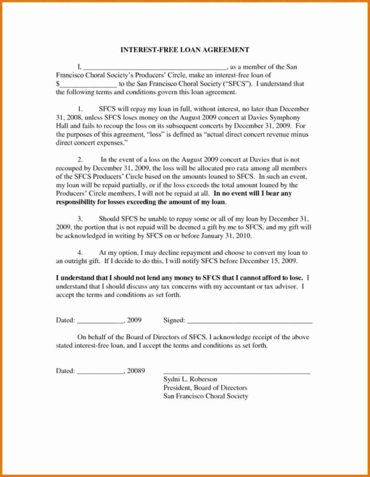 Intra Family Loan Agreement Template Fresh Money Loan Agreement Download Loan Document Free