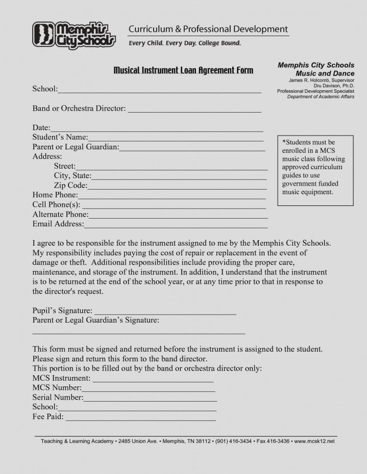 Intra Family Loan Agreement Template Inspirational Free Loan Agreement Template Between Family Members