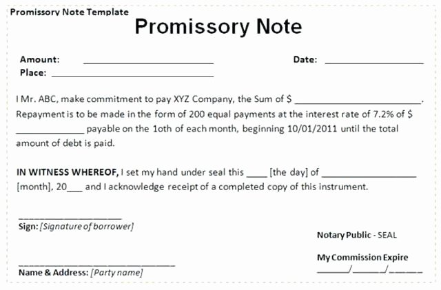 Intra Family Loan Agreement Template Lovely Family Loan Contract Template Picture – Bank Loan