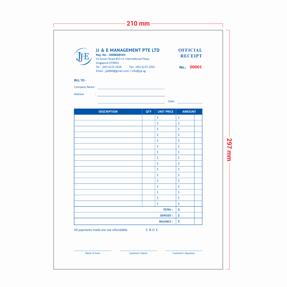 Is An Invoice A Receipt Fresh Invoice Receipt Book A4 20 Books Jj & E