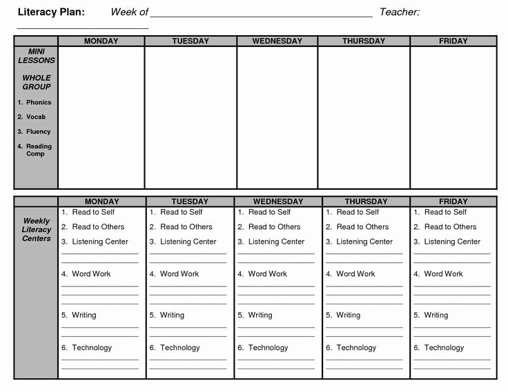 Jan Richardson Lesson Plan Template Best Of Guided Reading Lesson Plan Template