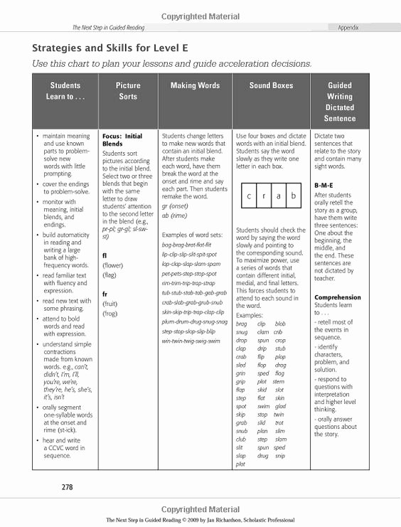 Jan Richardson Lesson Plan Template Fresh Amazon the Next Step In Guided Reading Focused