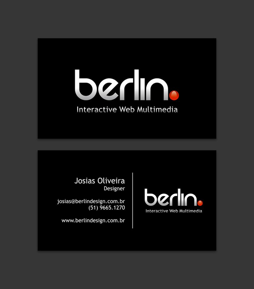 Jist Card Template Beautiful Berlin Business Card by Josiasoliveira On Deviantart