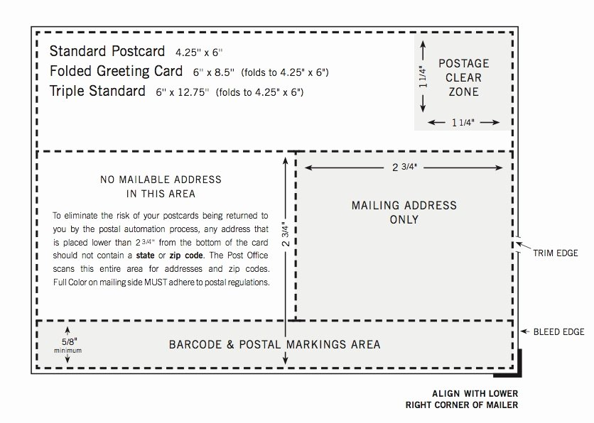 Jist Card Template Fresh Usps Postcard Guidelines Template Pchscottcounty