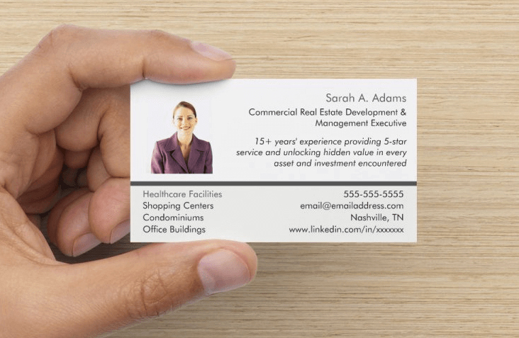 Jist Card Template Inspirational Example Job Search Networking Card Front