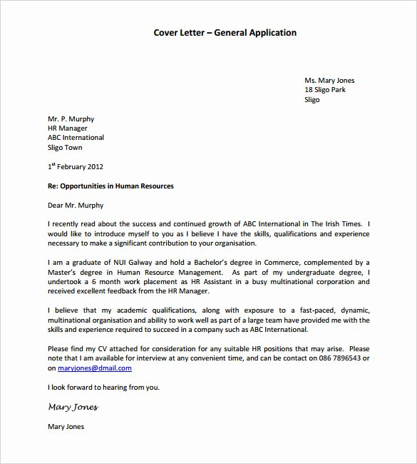 Job Application Letter format Pdf Elegant 55 Cover Letter Templates Pdf Ms Word Apple Pages