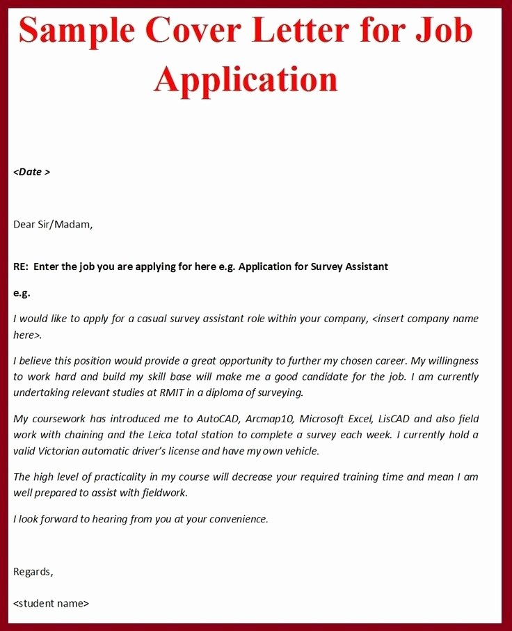 Job Application Letter format Pdf Fresh 9 Ficial Job Application Letter Examples Pdf