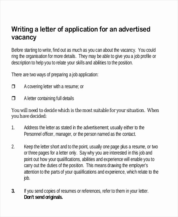 Job Application Letter format Pdf Luxury Letters In Pdf