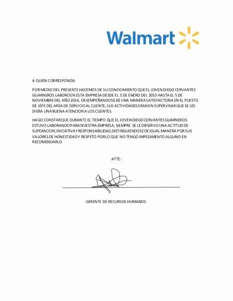John Nash Letter Of Recommendation Fresh Carta De Re Endacin Personal O Hacerla Con Ejemplos