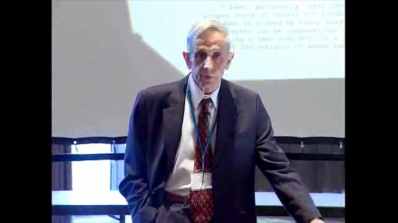 John Nash Recommendation Letter Best Of Video John Nash Jr 2006 the Agencies Method and