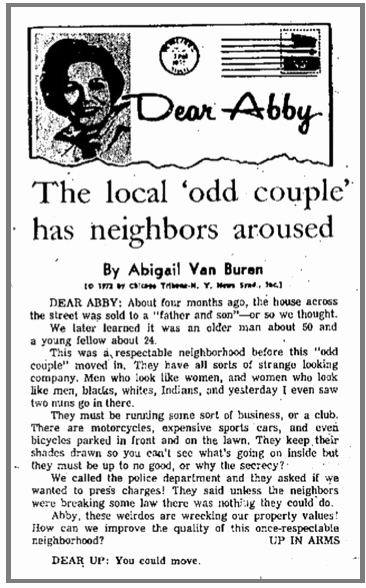 Just sold Letter to Neighbors Elegant Episode 08 — Dear Abby