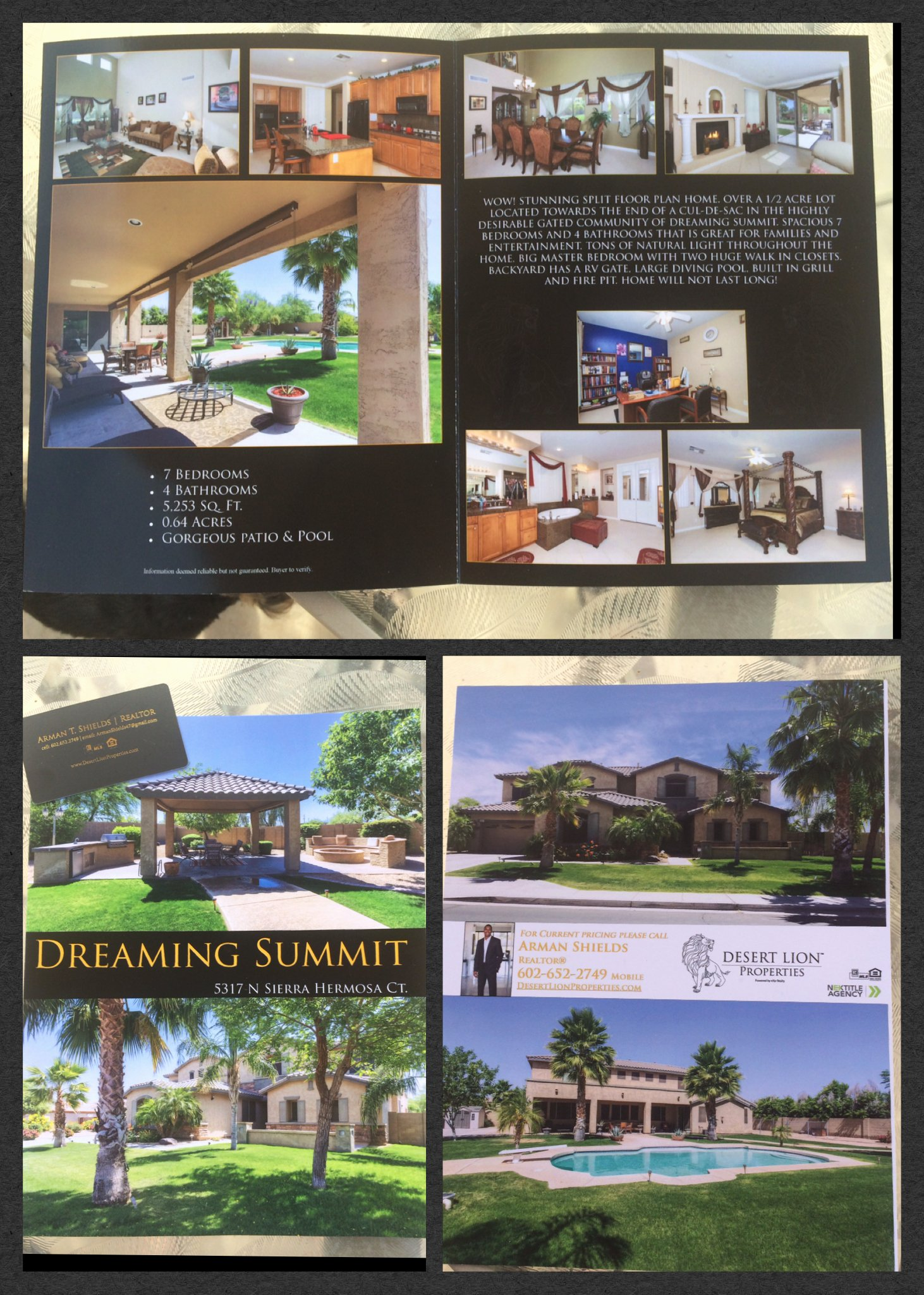 Just sold Letter to Neighbors Lovely Real Estate Marketing