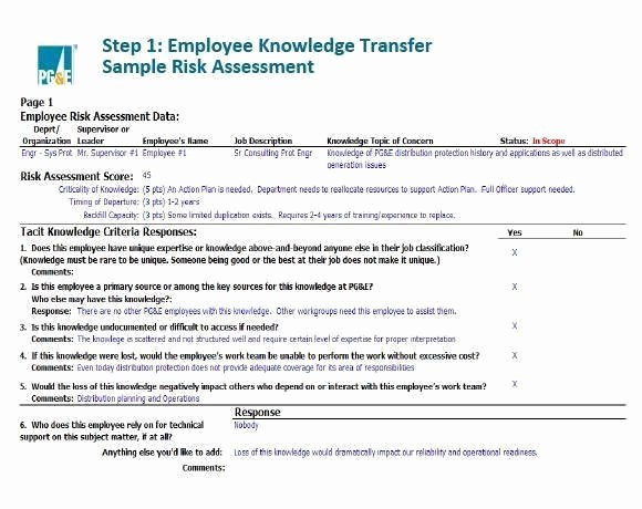 Knowledge Transfer Plan Template Best Of Knowledge Management Strategy Helps Gas Pany Retain