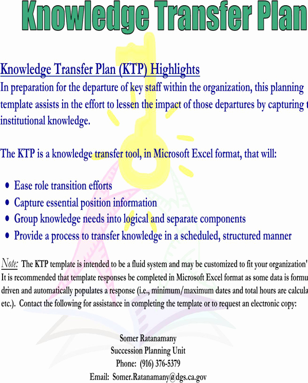 Knowledge Transfer Plan Template Lovely Download Knowledge Transfer Template for Free